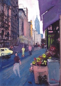 Artist Dale Miller - A Well Traveled Artist