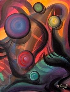 The Desert - Peter Thaddeus - Art From The Gold Coast