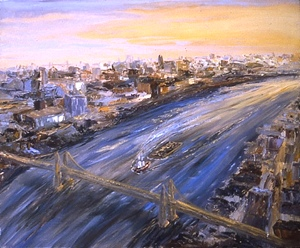 Arthur Robins - Approaching The City