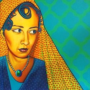 Artist Leila Zafar - Excellent Artist From Iran