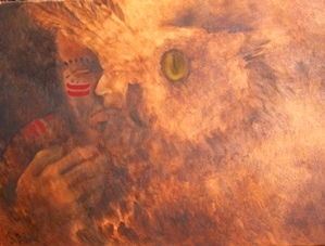 Artist Joyce DiBona - The Inevitable Meeting