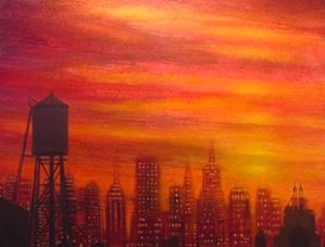 Downtown Blue - Allan Linder