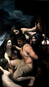 Artist Eric Armusik - Odysseus and the Sirens