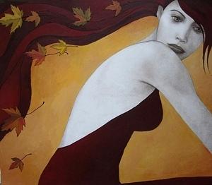Automn Mood | | Olga Gouskova - Belgium Artist